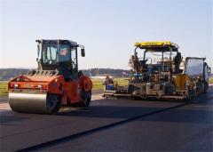 Asphalting and construction of roads in Ukraine