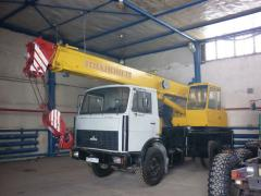 Rent of the truck crane the Resident of Ivanovo -