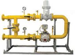 Installation avtomatizovany vuzl_v to obl_k to gas