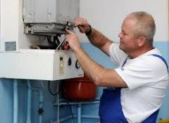 Checking, repair of gas industrial meters, setup