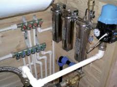 Services in installation, start-adjusting and maintenance service of systems of gas supply