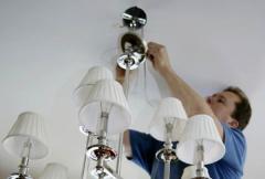 Installation of illuminants