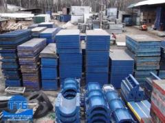 Production of a timbering under the order Kiev