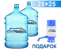 Delivery of the purified TM water Is healthy water