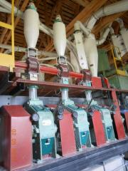 Repair of flour-grinding mills of AVM-7 and AVM-15