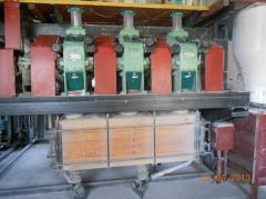Installation of mills of ABM 7, installation of