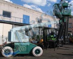 Rent of the telescopic elevator in Ukraine