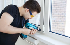 Repair of metalplastic windows, repair and