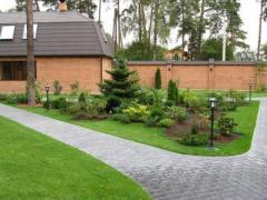 Improvement of the territory, gardening and