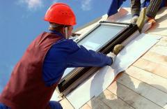 Installation of dormer-windows, dormer-windows