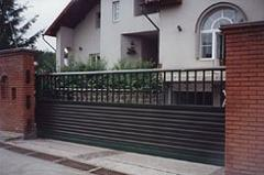 Repair and service of automatic sliding gate