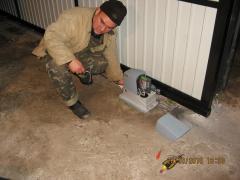Installation, adjustment of automatic equipment on