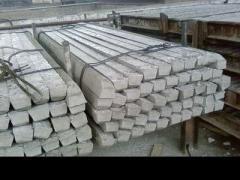 Изготовление железобетонных столбиков