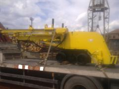 Repair of the mining equipmen