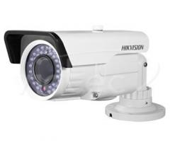 Installation of systems of video surveillance.