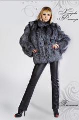 Tailoring of fur coats