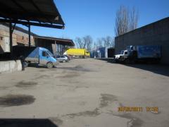 Сдам складские помещения – от 200 до 1600 м/кв (общей S=5500м.кв)     Мелитополь