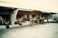 Repair of semi-trailers