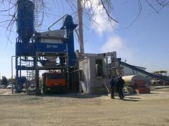 Монтаж и ремонт асфальтосмесительных установок