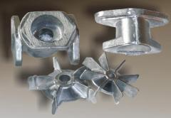 Molding under the order from aluminum alloys
