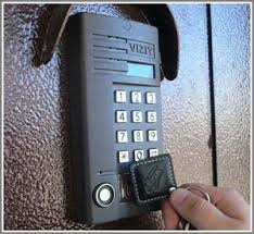 Installation of on-door speakerphones