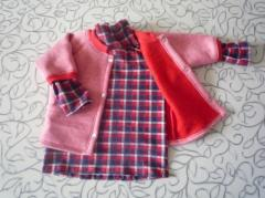 We sew a kidswear to order, on raw materials