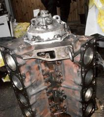 Repair of the ZIL-130 engine