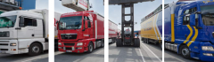 International transport of loads all means of