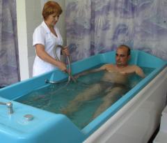 Підводний душ-масаж ванна гейзер