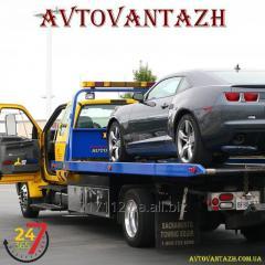 Евакуація легкових автомобілів