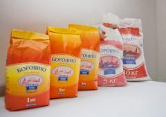 Production of flour in Vinnytsia