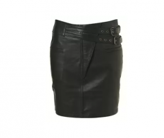 To sew a leather skirt in studio of Kiev cheap and