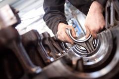 Repair of a steering
