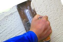 Шпаклювання стін і стель