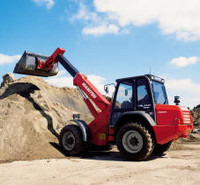 Rent, services of a loader Manitou MLA 628 2 of m3