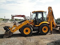 Rent, services JCB 4CX excavator loader
