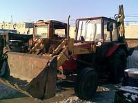 Services, rent of the excavator - a loader of