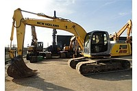 Rent, service of the excavator of caterpillar 0,8