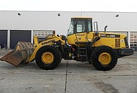 Rent, services of the wheel loader 3 of m3