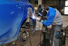 Welding of the car
