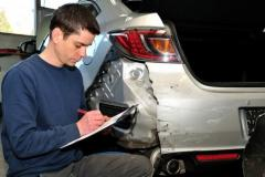 Determination of cost of recovery car repairs