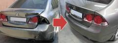 Restoration of cars after accidents