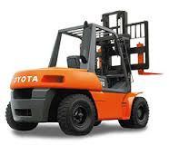 Repair of loaders of Toyota