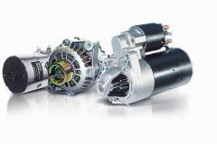 Repair of starters and generators