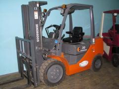 Service of loading equipment in Kiev