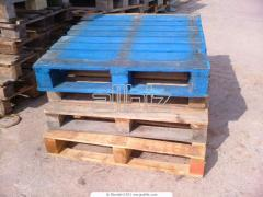 Exchange of pallets