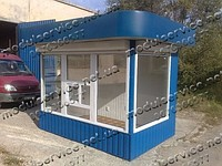 Production in Dnipropetrovsk of pavilions, booths,