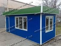 Production country houses, modular buildings