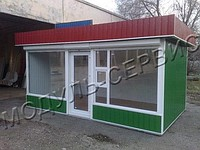 Production of pavilions