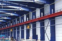 Design of industrial buildings and constructions